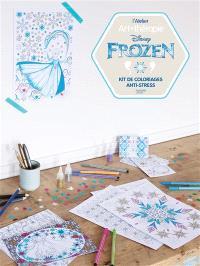 Frozen : kit de coloriages anti-stress