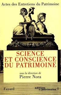 Science et conscience du patrimoine