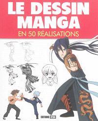 Le dessin manga en 50 réalisations