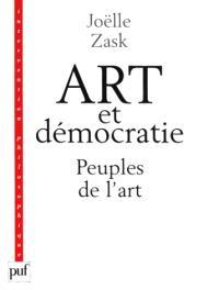 Art et démocratie : peuples de l'art