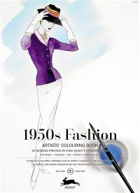 Artists' colouring book = Livret de coloriage artistes = Künstler-Malbuch, 1950's fashion