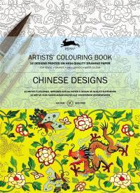 Artists' colouring book = Livret de coloriage artistes = Künstler-Malbuch, Chinese designs