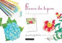 Fleurs du Japon : 32 cartes postales prédécoupées