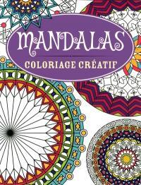 Mandalas  : coloriage créatif