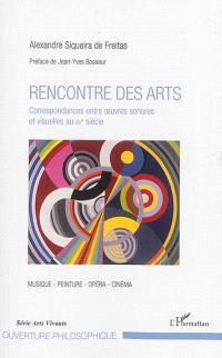 Rencontre des arts : correspondances entre oeuvres sonores et visuelles au XXe siècle : musique, peinture, opéra, cinéma