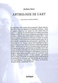 Anthologie de l'art