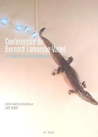 Conférences de Bernard Lamarche-Vadel : la bande-son de l'art contemporain