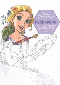 Disney princesse : point par point : 100 illustrations à découvrir