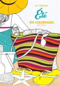 Eté : 100 coloriages anti-stress