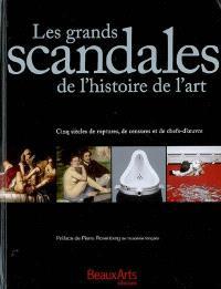 Les grands scandales de l'histoire de l'art : cinq siècles de ruptures, de censures et de chefs-d'oeuvre