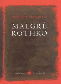 Malgré Rothko : essai