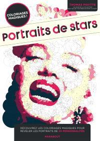 Portraits de stars : coloriages magiques !