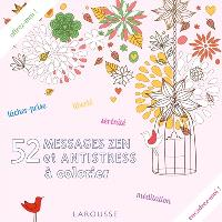 52 messages zen et antistress à colorier