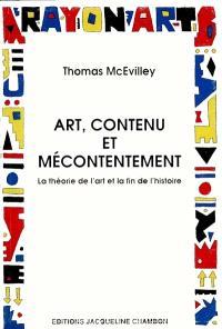 Art, contenu et mécontentement : la théorie de l'art et la fin de l'histoire