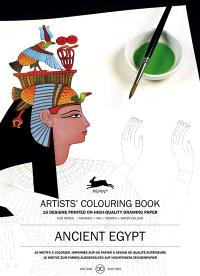 Artists' colouring book = Livret de coloriage artistes = Künstler-Malbuch, Ancient Egypt