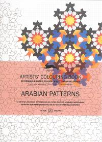 Artists' colouring book = Livret de coloriage artistes = Künstler-Malbuch, Arabian patterns