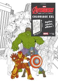 Avengers : age of Ultron : coloriage XXL