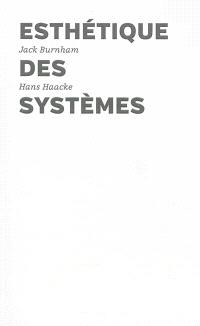 Esthétique des systèmes