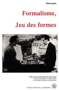 Formalisme, jeu des formes