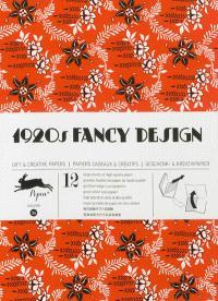 Gift & creative papers = Papiers cadeaux & créatifs = Geschenk- & Kreativpapier. Volume 34, 1920's fancy design