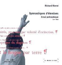 Gymnastique d'étendues : essai poésophique