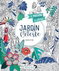 Jardin céleste : 2 posters à colorier
