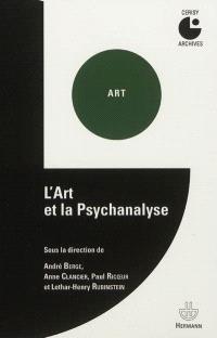 L'art et la psychanalyse : colloque de Cerisy