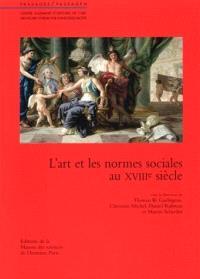 L'art et les normes sociales au XVIIIe siècle