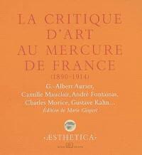 La critique d'art au Mercure de France, 1890-1914