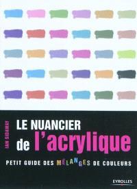 Le nuancier de l'acrylique : petit guide des mélanges de couleurs
