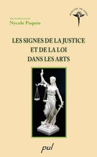 Les signes de la justice et de la loi dans les arts