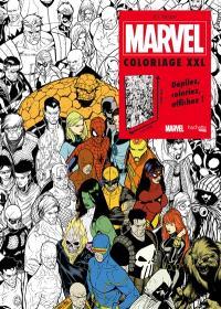 Marvel : coloriages XXL