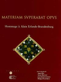 Materiam superabat opus : hommage à Alain Erlande-Brandenburg