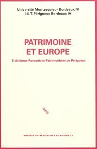 Patrimoine et Europe