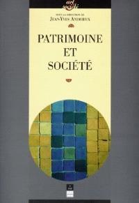 Patrimoine et société : actes du cycle de conférences prononcées à l'Université de Haute-Bretagne (Rennes 2)
