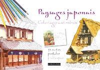 Paysages japonais : 32 cartes postales prédécoupées