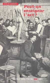 Peut-on enseigner l'art ?