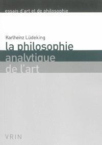 Philosophie analytique de l'art
