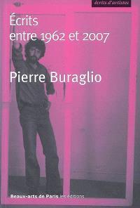 Pierre Buraglio : Ecrits entre 1962 et 2007