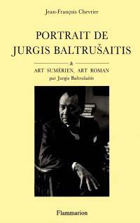 Portrait de Jurgis Baltrusaitis. Art sumérien, art roman