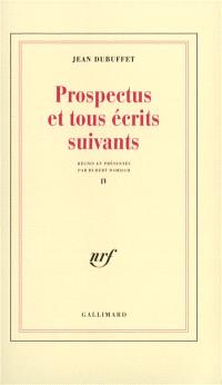 Prospectus et tous écrits suivants. Volume 4