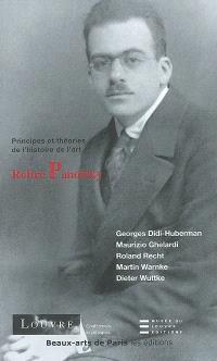Relire Panofsky : cycle de conférences, du 19 novembre au 17 décembre 2001