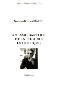Roland Barthes et la théorie esthétique