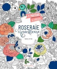 Roseraie merveilleuse : 2 posters à colorier