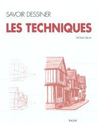 Savoir dessiner : les techniques