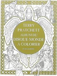 Terry Pratchett : album du Disque-monde à colorier