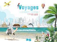 Voyages extraordinaires : 55 sous-mains à colorier pour s'organiser