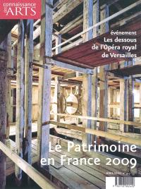Le patrimoine en France, 2009