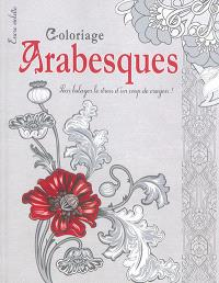 Arabesques : coloriage : grand format
