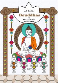 Bouddhas : 100 coloriages anti-stress